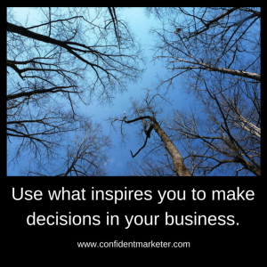 inspired decision making