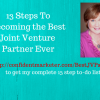 how to be a super JV partner