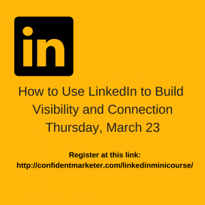 content marketing with LinkedIn