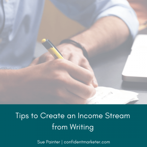 income from writing