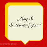 How To Confidently Ask for Interviews