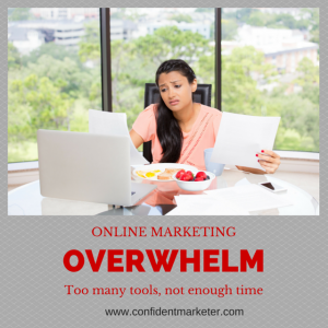 Online Marketing Overwhelm