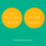 where is your market on social media