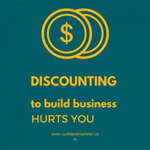 discounting hurts your business