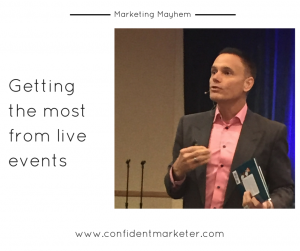 Marketing Mayhem live event