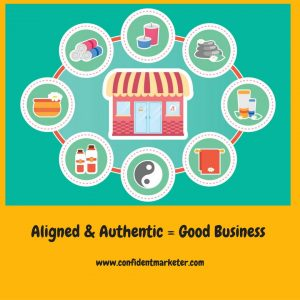 aligned and authentic business