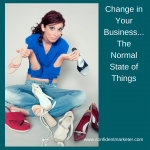 change in your business