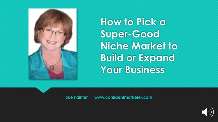 Find super-good niches in your market