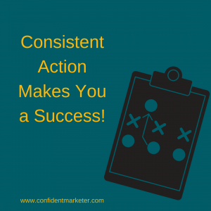 take consistent action