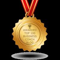 Blogspot - Top 100 Business Coach Blog Award