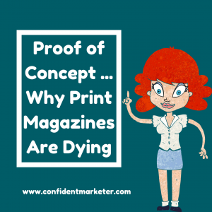 magazines are dying