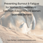 burnout and fatigue in women business owners