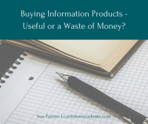 how to buy information products