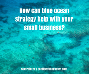 4 parts to blue ocean strategy