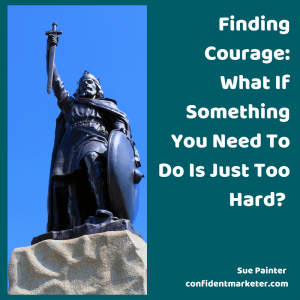 entrepreneur mindset finding courage