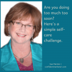 self-care strategies challenge