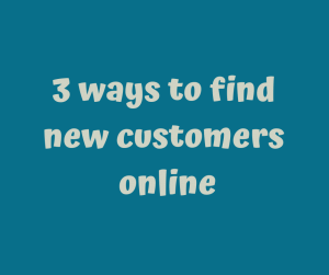 how to find new customers online
