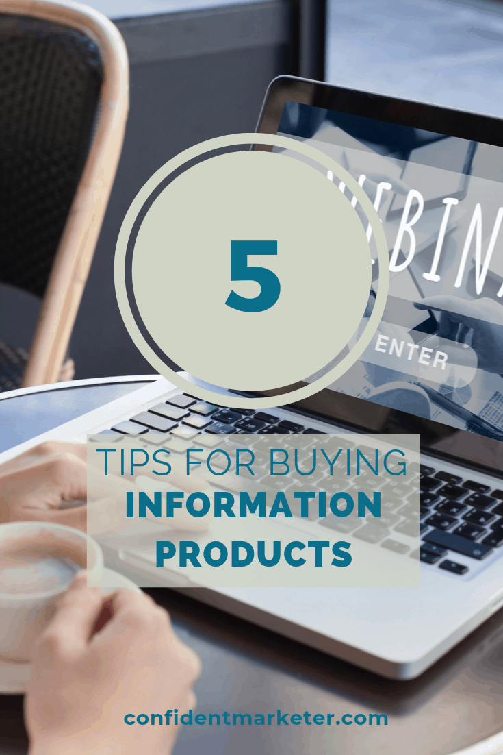 5 tips for buying information products