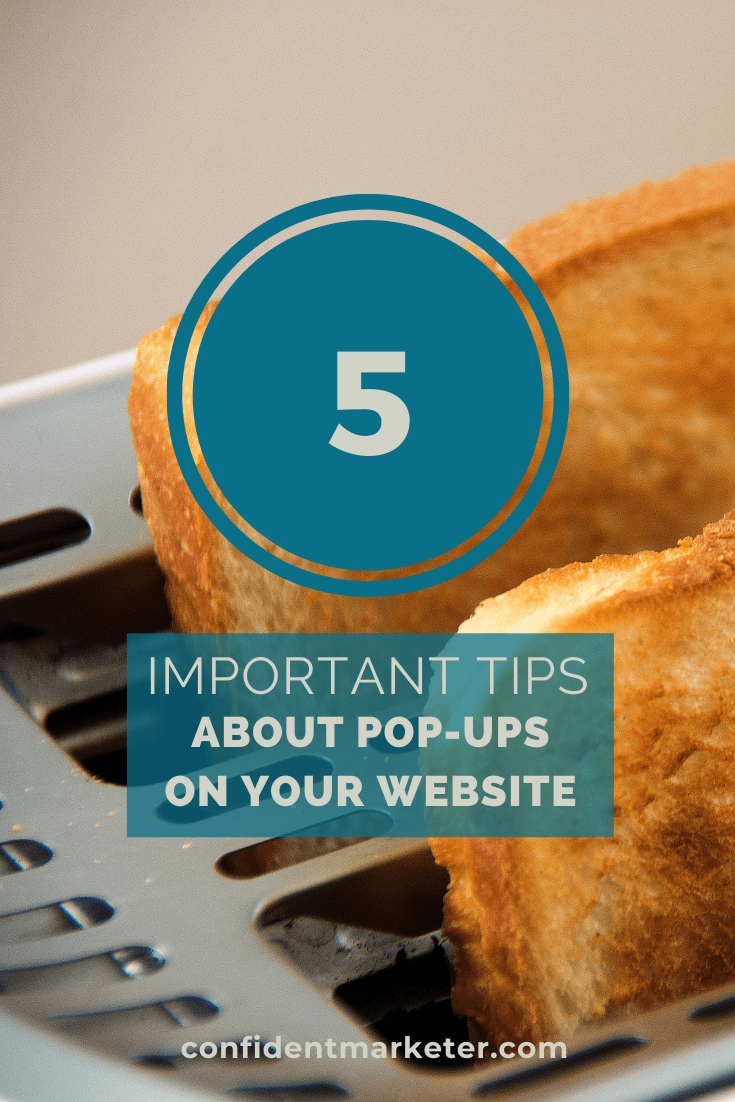 5 tips about website pop-ups