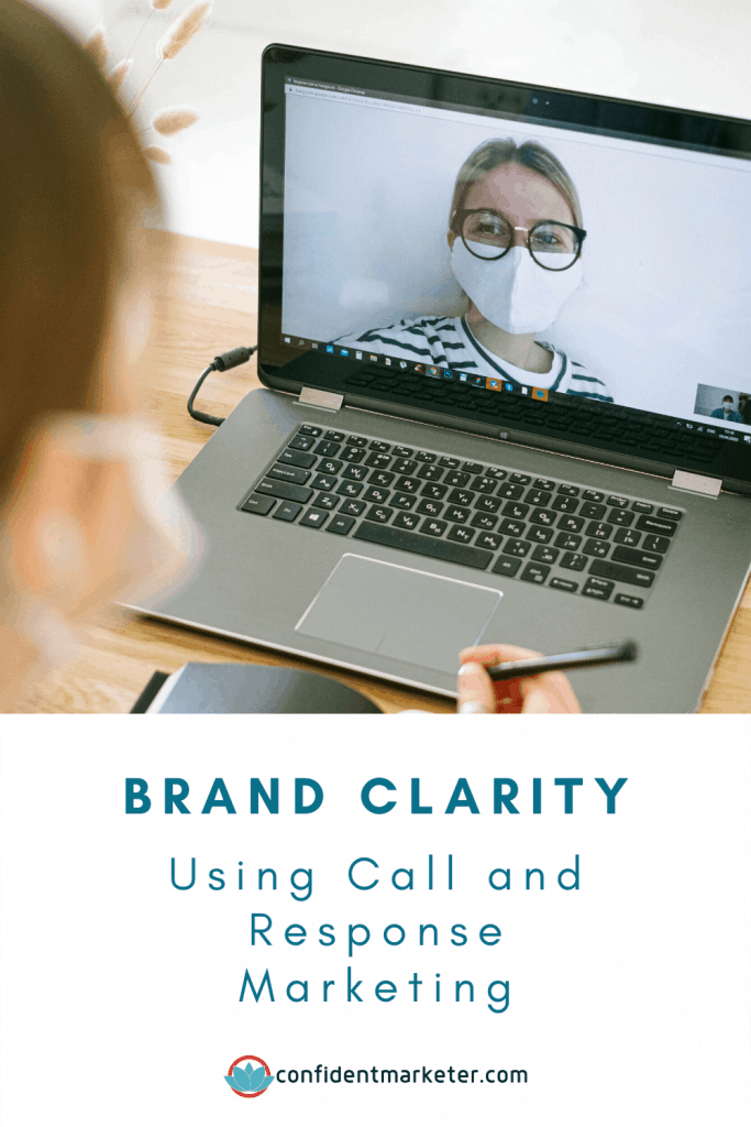 image of computer for brand clarity for marketing