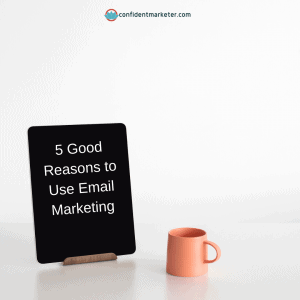 iPad on desk 5 good reasons to use email marketing