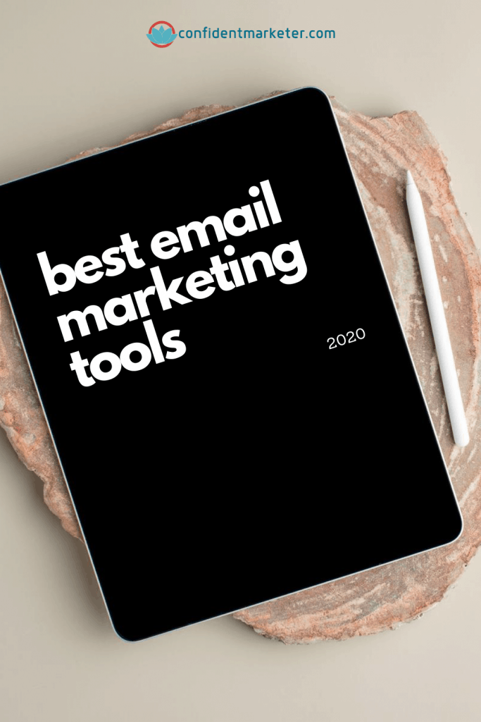 best email marketing tools graphic