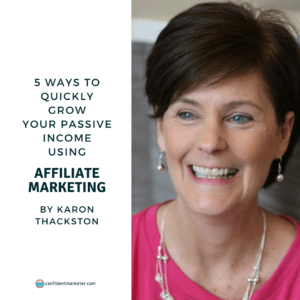 Article title 5 Ways to Quickly Grow Your Passive Income using Affiliate Marketing