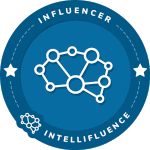 Sue Painter's Intellifluence Influencer Badge
