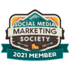 Social Media Marketing Society 2021 Member badge