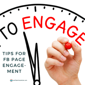 ways to increase facebook page engagement